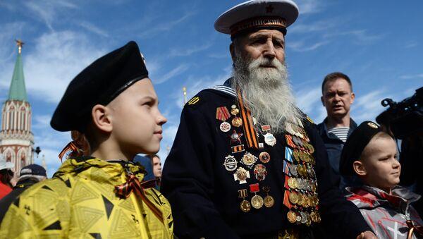 Ветеран Великой Отечественной войны. Архивное фото