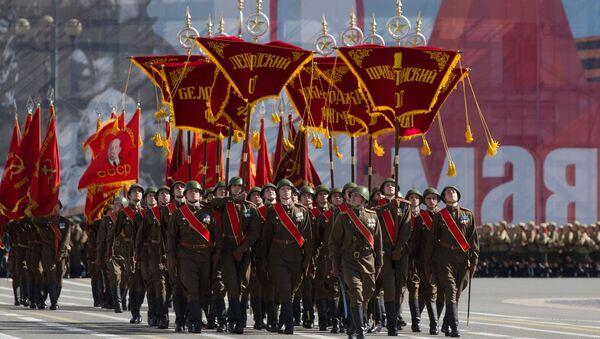 Празднование 70-летия Победы в Великой Отечественной войне 1941-1945 годов. Архивное фото