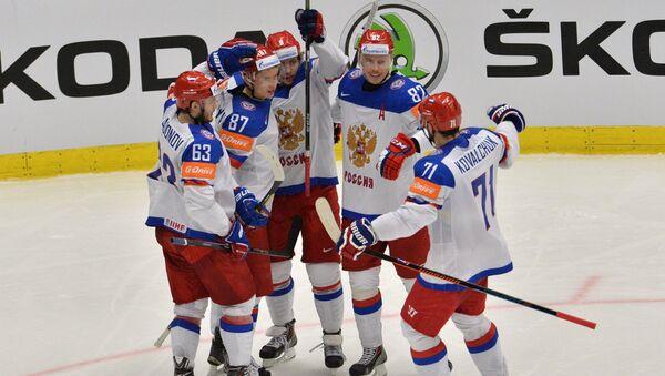 Хоккей. Чемпионат мира - 2015. Матч Россия - Белоруссия