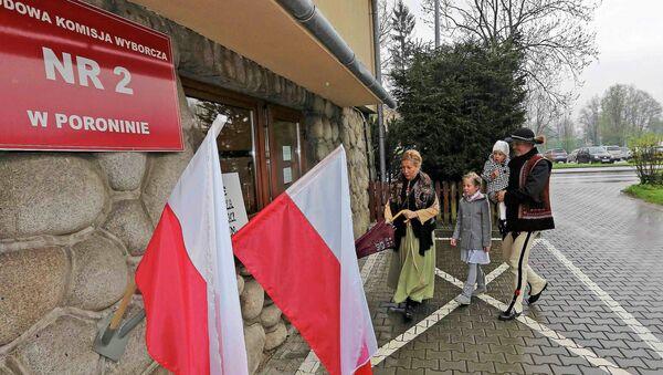 Голосование на президентских выборах в Польше, 10 мая 2015 года