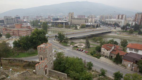 Столица Македонии Скопье. Архивное фото