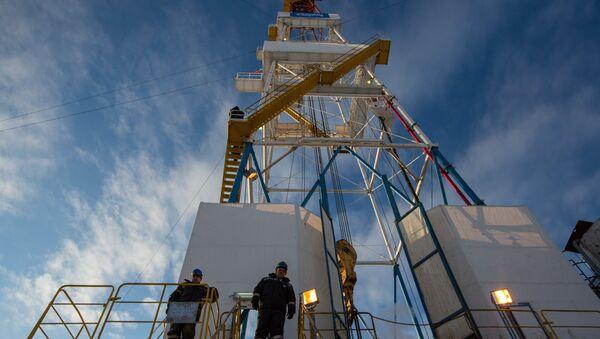 Разработка Ковыктинского газового месторождения в Иркутской области, архивное фото