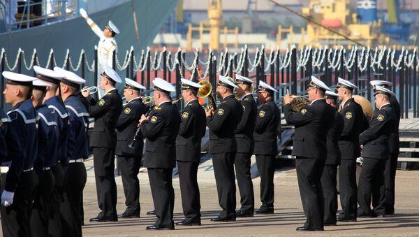 Российско-китайские учения Морское взаимодействие - 2015. Архивное фото
