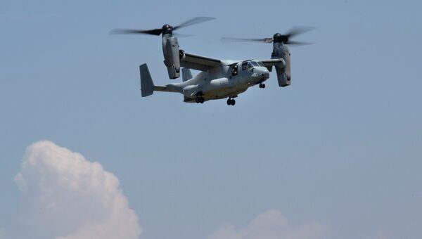 Американский конвертоплан Osprey. Архивное фото