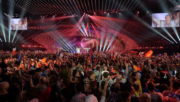 Полуфинал Международного конкурса песни Евровидение 2015 в Вене. Архивное фото