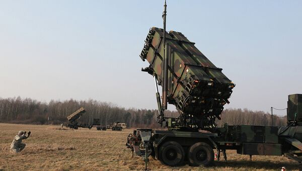 Американский зенитный ракетный комплекс Пэтриот. Архивное фото