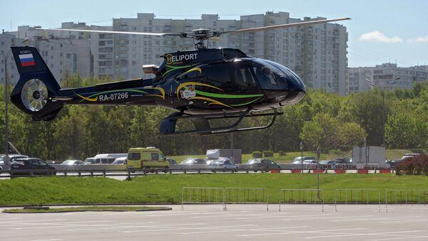 Вертолет Eurocopter. Архивное фото