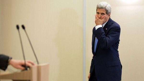 Государственный секретарь США Джон Керри, архивное фото