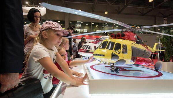 VIII Международная выставка вертолетной индустрии HeliRussia 2015