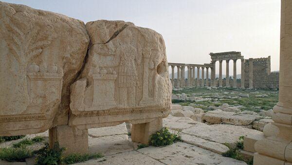 Развалины древней Пальмиры. Архивное фото