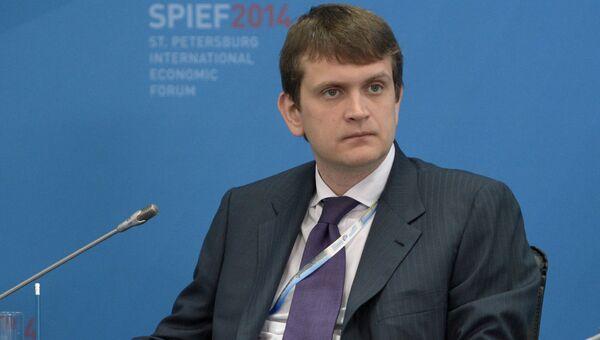 Генеральный директор ОАО МегаФон Иван Таврин. Архивное фото