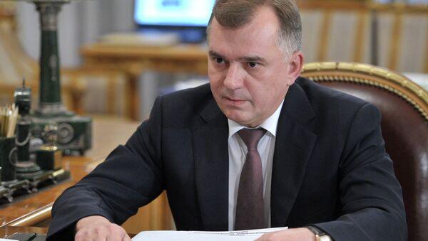 Руководитель Пограничной службы ФСБ РФ Владимир Кулишов. Архивное фото
