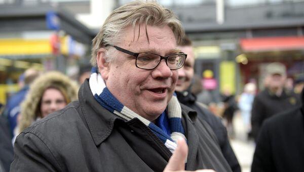 Министр иностранных дел Финляндии Тимо Сойни
