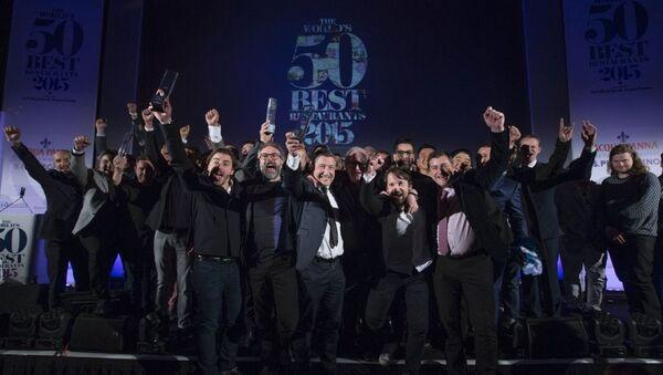Торжественное вручение ресторанного Оскара — премии The World`s 50 Best Restaurants 2015
