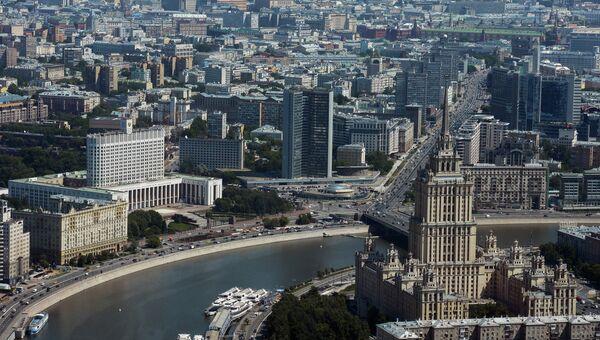 Виды Москвы. Архивное фото