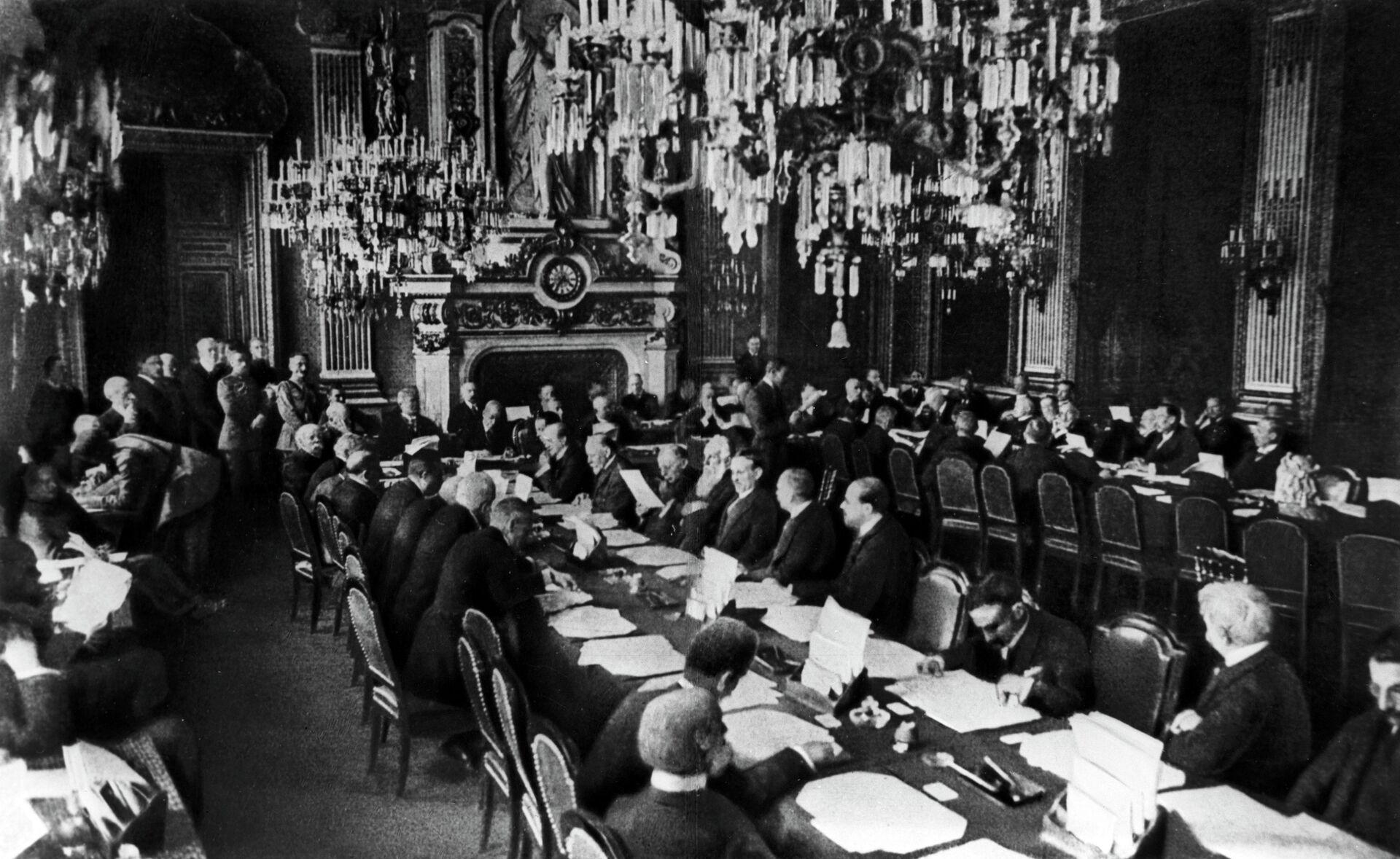 Открытие Парижской мирной конференции 18 января 1919 года - РИА Новости, 1920, 06.11.2020