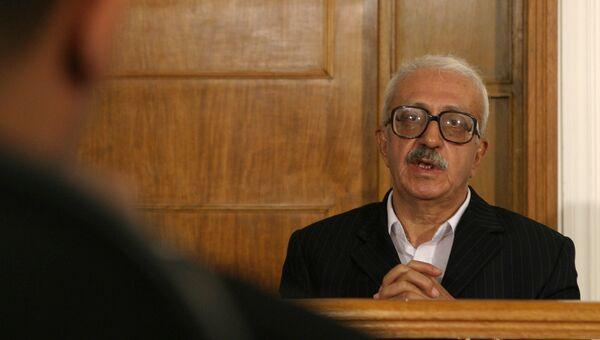 Бывший министр иностранных дел Ирака Тарик Азис, архивное фото