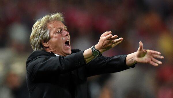 Португальский футбольный тренер Жозе Жезуш. Архивное фото
