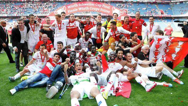 Футболисты Сьона добились крупной победы над Базелем в финале Кубка Швейцарии и стали обладателями трофея