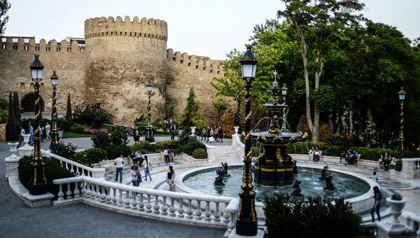 Площадь фонтанов в Баку. Архивное фото
