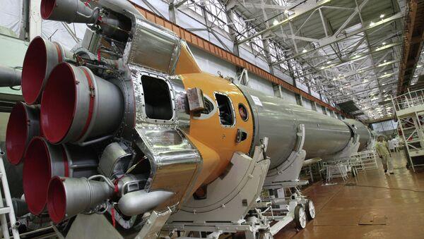 Цех сборки ракетных двигателей ГНПРКЦ ЦСКБ-Прогресс