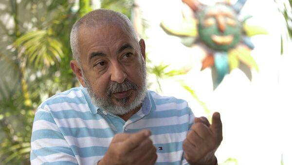 Кубинский писатель и журналист Леонардо Падура. Архивное фото