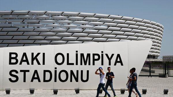 Национальный олимпийский стадион в Баку
