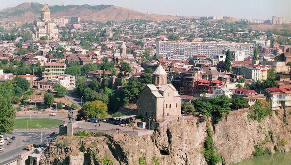 Панорама Тбилиси. Архивное фото