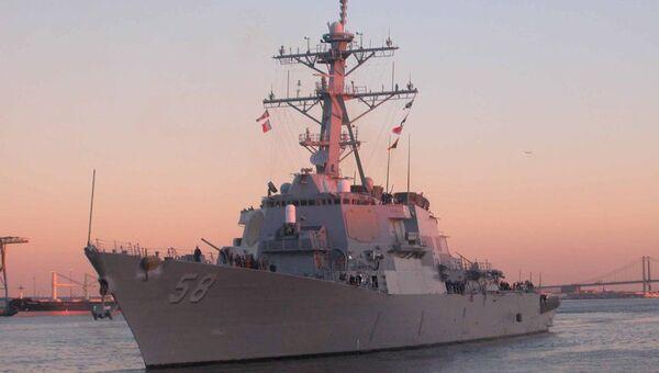 Американский эсминец Лабун