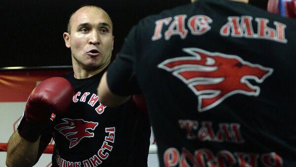 Российский боксер Александр Устинов. Архивное фото