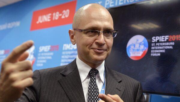 Генеральный директор компании Росатом Сергей Кириенко. Архивное фото
