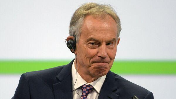 Бывший премьер-министр Великобритании Энтони Блэр. Архивное фото