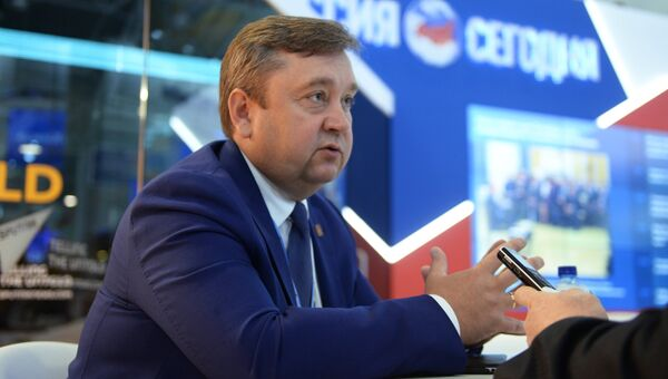 Губернатор Тверской области Андрей Шевелев на XIX Петербургском международном экономическом форуме