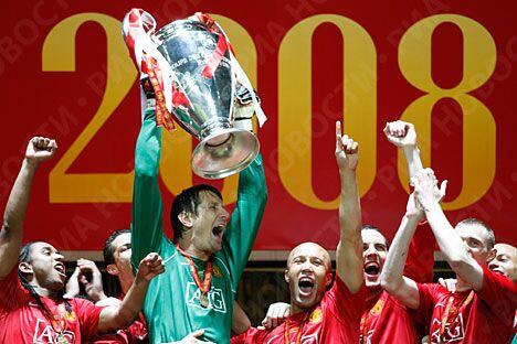 Манчестер юнайтед стал победителем лиги чемпионов