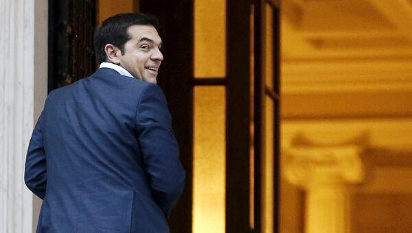 Премьер Греции Алексис Ципрас