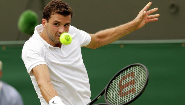 Теннисист Григор  Димитров на Уимблдоне-2015