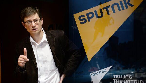 Главный экономист Евразийского банка развития Ярослав Лисоволик. Архивное фото