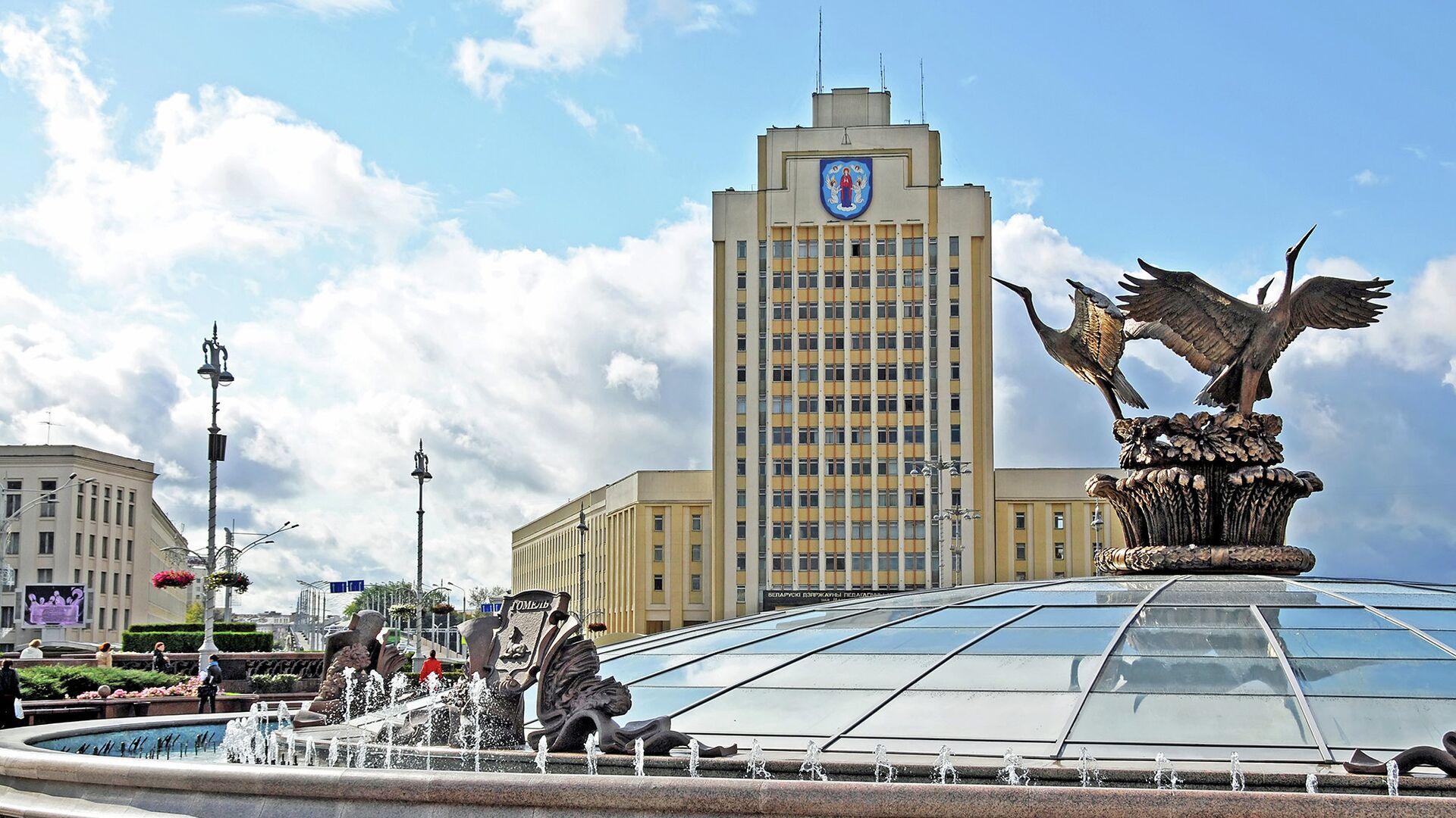 Площадь Независимости, Минск - РИА Новости, 1920, 07.05.2021