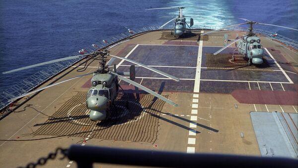 Противолодочный крейсер-вертолетоносец Москва