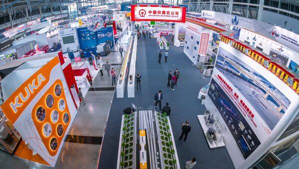 Открытие шестой Международной промышленной выставки Иннопром 2015