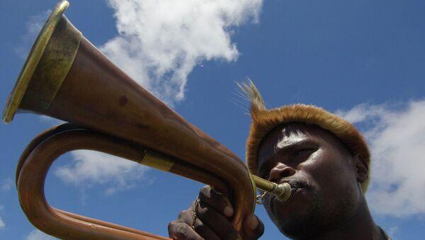 Житель деревни Куну в южноафриканской провинции Восточный Кейп