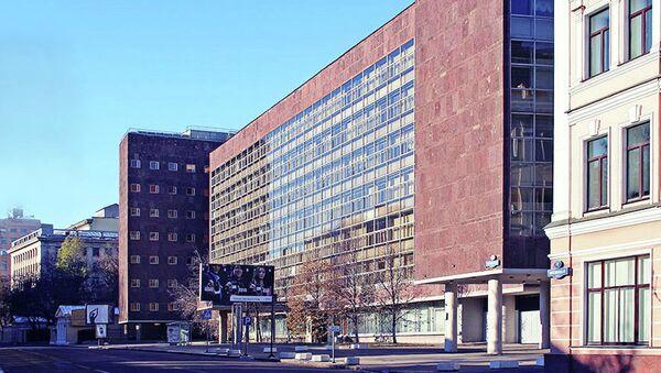 Здание Федеральной службы государственной статистики. Архивное фото.