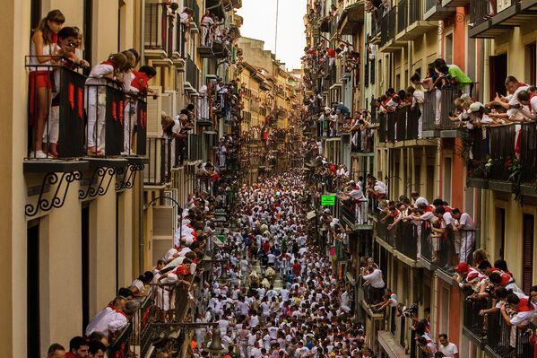 Фестиваль Сан-Фермин в Памплоне, Испания