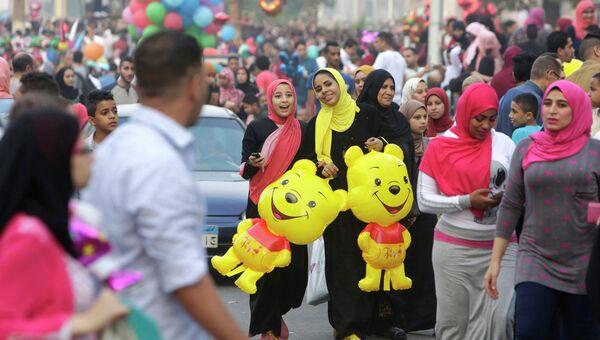 Празднование Ураза-Байрама в Египте