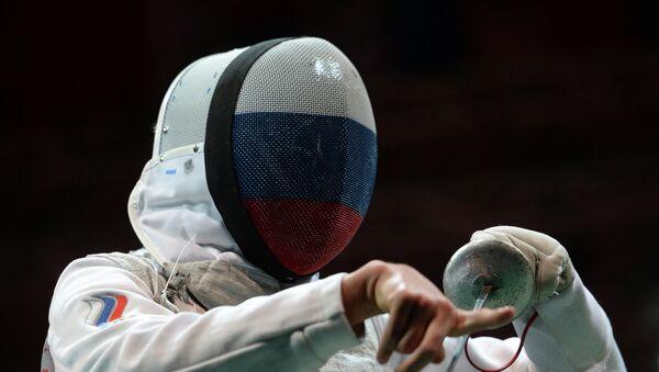 Российский рапирист Дмитрий Ригин. Архивное фото