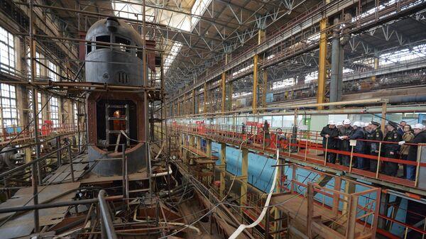 Амурский судостроительный завод в Комсомольске-на-Амуре