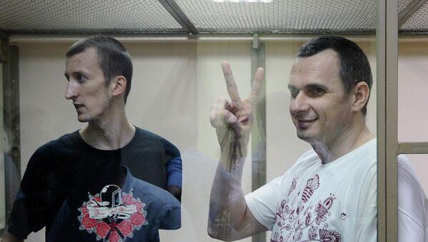 Слушание по уголовному делу в отношении Олега Сенцова. Архивное фото