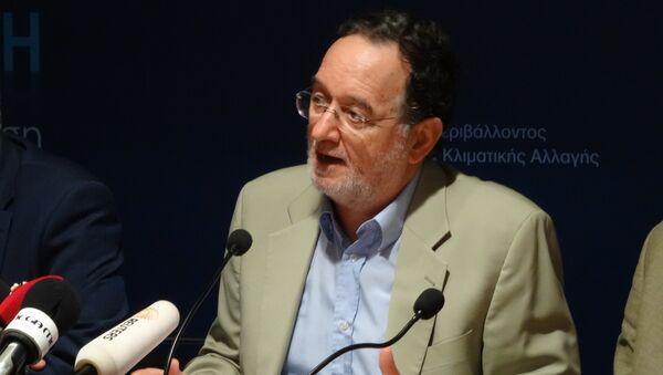 Лидер левого крыла греческой партии СИРИЗА Панайотис Лафазанис. Архивное фото.