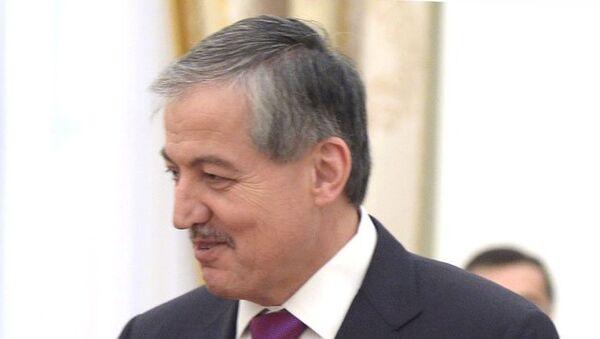 Министр иностранных дел Таджикистана Сироджидин Аслов. Архивное фото