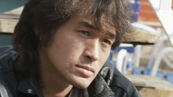 Солист рок-группы Кино Виктор Цой